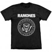 Camiseta - Ramones - Logo (Preta)
