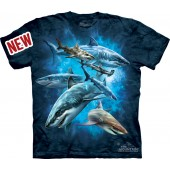 Camiseta - The Mountain - Shark Collage