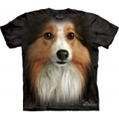 Camiseta - The Mountain - Sheltie Face