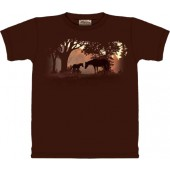 Camiseta - The Mountain - Silhouette Sunset