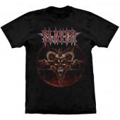 Camiseta - Slayer - Pentagram Skull