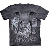 Camiseta - The Mountain - Snow Leopards