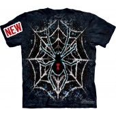 Camiseta - The Mountain - Tie-Dye Spider