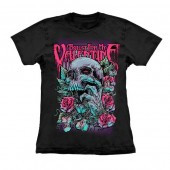 Camiseta - Bullet For My Valentines - Skull Red Eyes