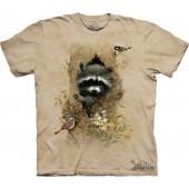 Camiseta - The Mountain - Wee Raccoon